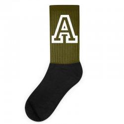 A Initial Name Socks   Artistshot