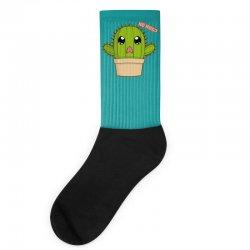 funny cactus hug Socks | Artistshot