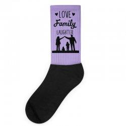 love family laughter Socks   Artistshot
