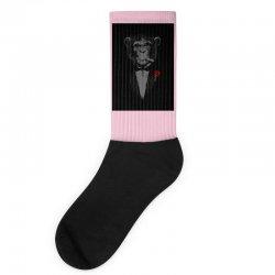 Monkey Busniseman Socks | Artistshot