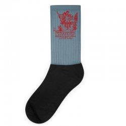 stranger things red Socks | Artistshot