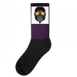 Monkey Cool Socks | Artistshot