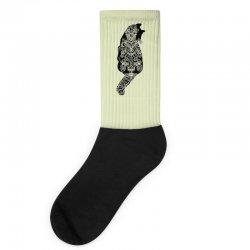 cats black Socks | Artistshot