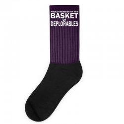 PROUD MEMBER OF THE BASKET OF DEPLORABLES Socks | Artistshot