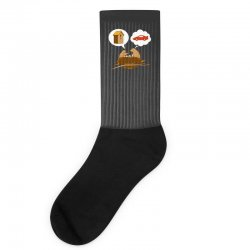 Funny Priorities Socks | Artistshot