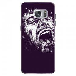 Scream Face Samsung Galaxy S7 Case | Artistshot