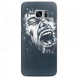 Scream Face Samsung Galaxy S7 Edge Case | Artistshot