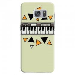 music,keyboard,electronic,piano,triangle,reflections,cute,vectorart, Samsung Galaxy S7 Case | Artistshot