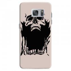 Screaming skull Samsung Galaxy S7 Case   Artistshot