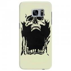 Screaming skull Samsung Galaxy S7 Edge Case   Artistshot
