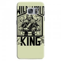 Wild World King Samsung Galaxy S7 Case | Artistshot