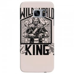 Wild World King Samsung Galaxy S7 Edge Case | Artistshot