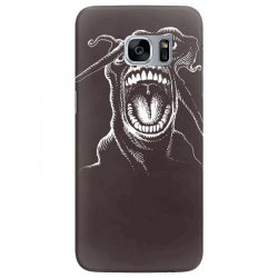 alien scream Samsung Galaxy S7 Edge Case | Artistshot