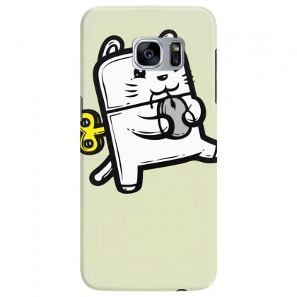 Robo Cat Samsung Galaxy S7 Edge Case Designed By Specstore