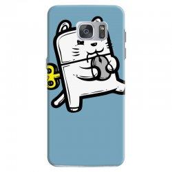 Robo Cat Samsung Galaxy S7 Case | Artistshot