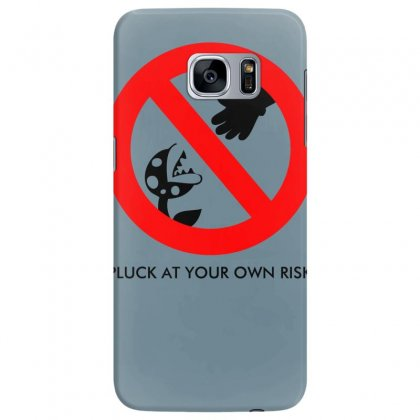 Pluck At Your Own Risk Samsung Galaxy S7 Edge Case Designed By Specstore