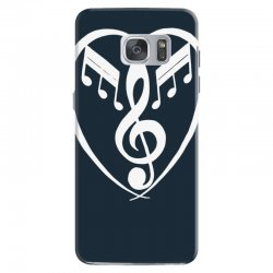music heart Samsung Galaxy S7 Case | Artistshot