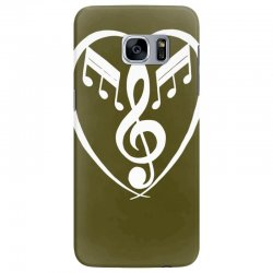 music heart Samsung Galaxy S7 Edge Case | Artistshot