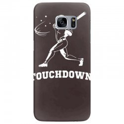 touchdown   funny sports Samsung Galaxy S7 Edge Case   Artistshot