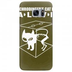 the big bang theory sheldon cooper schrodinger's cat Samsung Galaxy S7 Edge Case | Artistshot