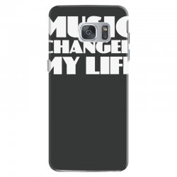 music changed my life Samsung Galaxy S7 Case | Artistshot
