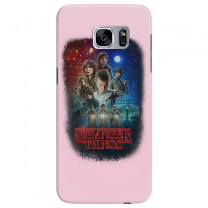 Stranger Things Poster Samsung Galaxy S7 Edge Case Designed By Vr46