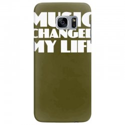 music changed my life Samsung Galaxy S7 Edge Case | Artistshot