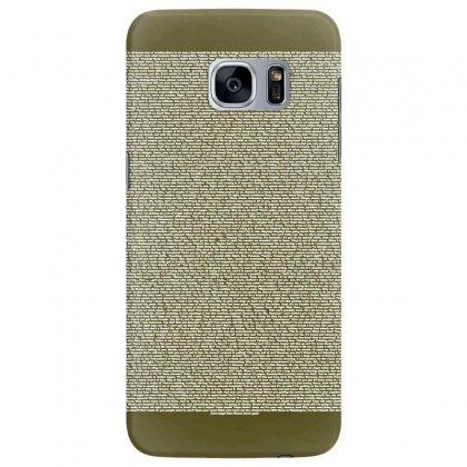 Bee Movie Script Samsung Galaxy S7 Edge Case Designed By Vr46