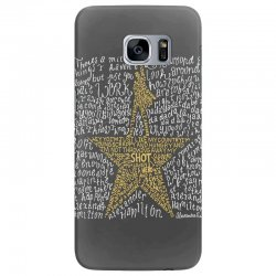 Hamilton Typography Samsung Galaxy S7 Edge | Artistshot