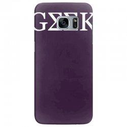 geek greek Samsung Galaxy S7 Edge Case | Artistshot