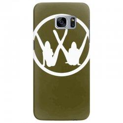 vw strip logo Samsung Galaxy S7 Edge Case   Artistshot