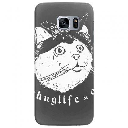 Thug Cat Samsung Galaxy S7 Edge Case Designed By Tonyhaddearts