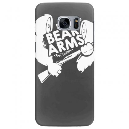 The Right To Bear Arms Samsung Galaxy S7 Edge Case Designed By Tonyhaddearts