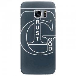 trust god t shirt Samsung Galaxy S7 Edge Case | Artistshot