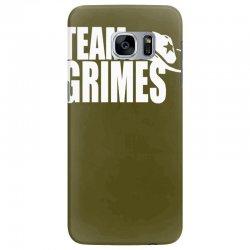 team grimes walking dead Samsung Galaxy S7 Edge Case | Artistshot
