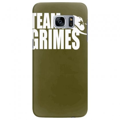 Team Grimes Walking Dead Samsung Galaxy S7 Edge Case Designed By Tonyhaddearts