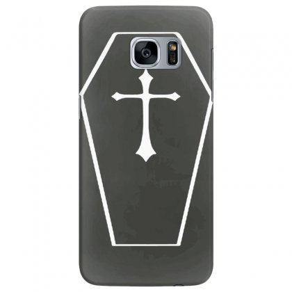 Goth Coffin Gothic Alternative Horror Samsung Galaxy S7 Edge Case Designed By Tonyhaddearts