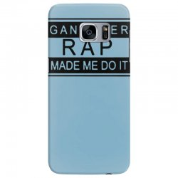 gangster rap made me do it Samsung Galaxy S7 Edge Case | Artistshot