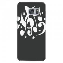 music notes Samsung Galaxy S7 Case | Artistshot