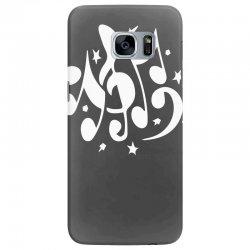 music notes Samsung Galaxy S7 Edge Case | Artistshot
