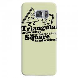 triangular sandwiches Samsung Galaxy S7 Case   Artistshot