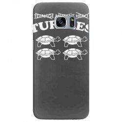 turtles heroes Samsung Galaxy S7 Edge Case | Artistshot