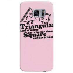 triangular sandwiches Samsung Galaxy S7 Edge Case   Artistshot
