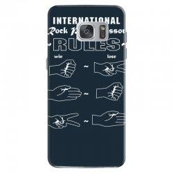 rock paper scissor international Samsung Galaxy S7 Case | Artistshot