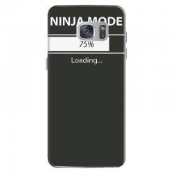 ninja mode loading Samsung Galaxy S7 Case   Artistshot