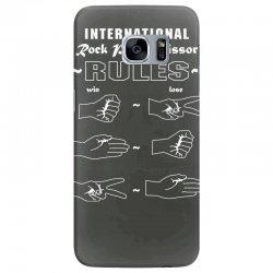 rock paper scissor international Samsung Galaxy S7 Edge Case | Artistshot