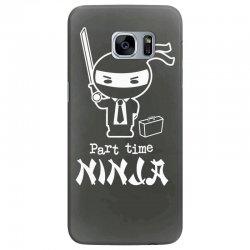 part time ninja Samsung Galaxy S7 Edge Case | Artistshot
