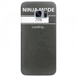ninja mode loading Samsung Galaxy S7 Edge Case   Artistshot