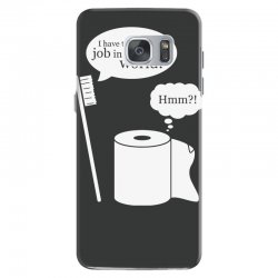 i have the worst job in the world! Samsung Galaxy S7 Case | Artistshot