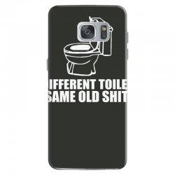 different toilet, same old shit Samsung Galaxy S7 Case | Artistshot